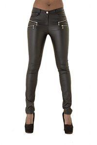 pantalones de cuero