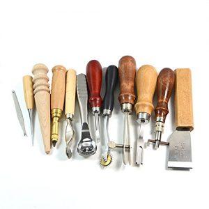 herramientas para trabajar el cuero