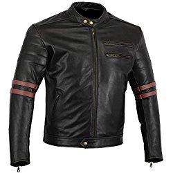 chaquetas piel moto