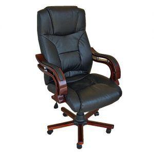 sillas de cuero