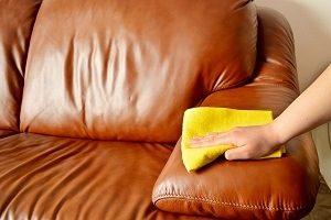 limpieza de cuero